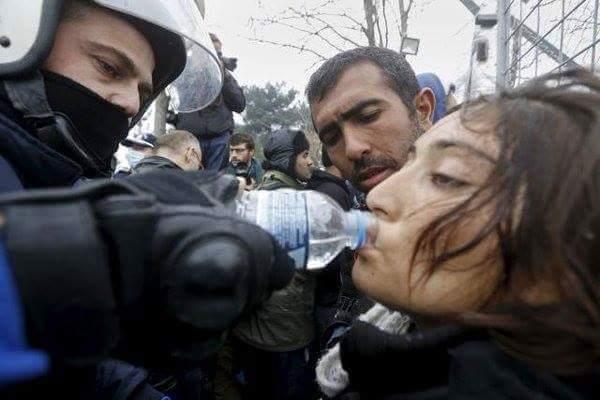 φωτο: Reuters/ Γιάννης Μπεχράκης- Ειδομένη, Κιλκίς